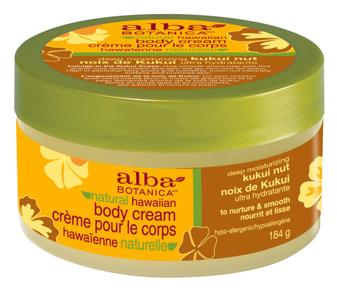 Alba Botanica Moisturizing Kukui Nut Body Cream