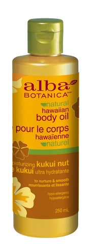 Alba Botanica Kukui Nut Body Oil