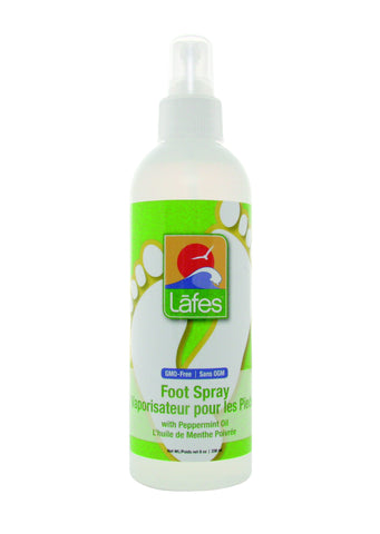 Lafe's Natural Foot Spray with Peppermint 8 oz
