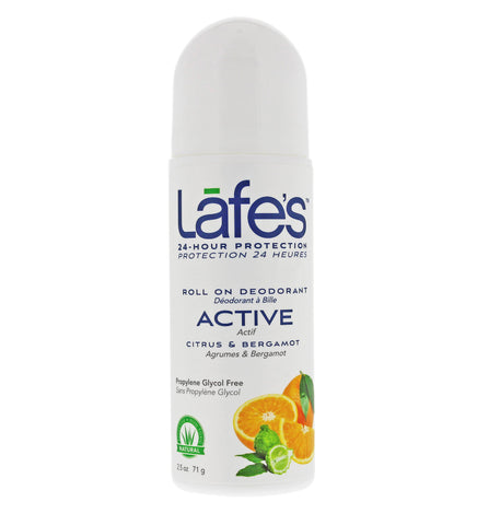 Lafe's Roll-On Deodorant - Active