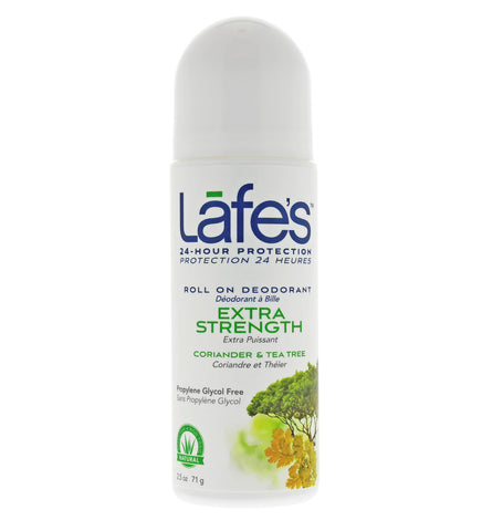 Lafe's Roll-On Deodorant - Extra Strength