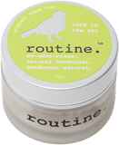 Routine Natural Deodorant Cream in Lucy in the Sky Scent