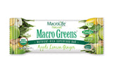 MarcoLife Naturals Macro Greens Apple Lemon Ginger Bars