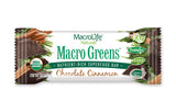 MarcoLife Naturals Macro Greens Chocolate Cinnamon Bars