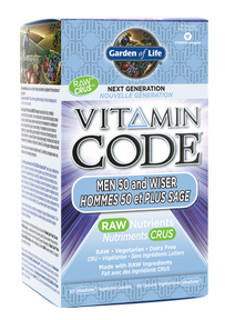 Garden of Life Vitamin Code Men 50+ & Wiser