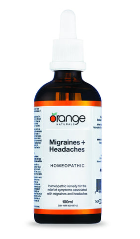 Orange Naturals Migraines & Headaches