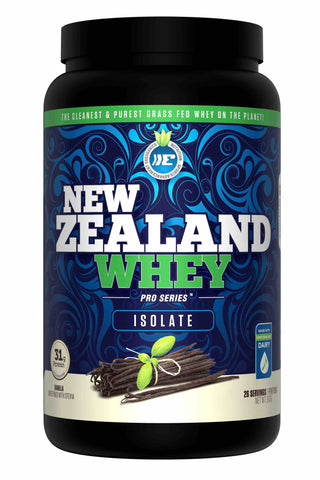 Ergogenics Nutrition New Zealand Whey Isolate Vanilla 910g