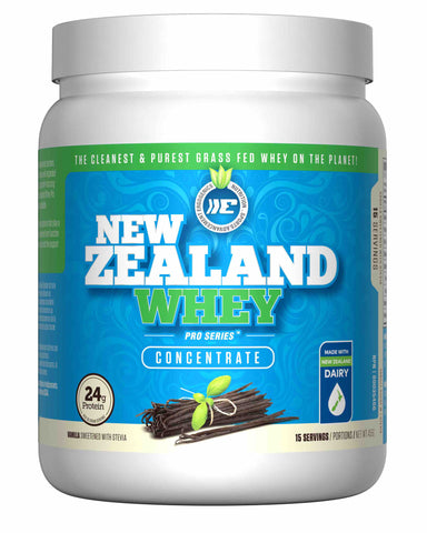 Ergogenics Nutrition New Zealand Whey Original 455g Vanilla