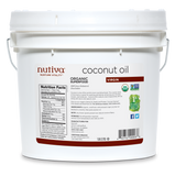 Nutiva Organic Virgin Coconut Oil 3.79L
