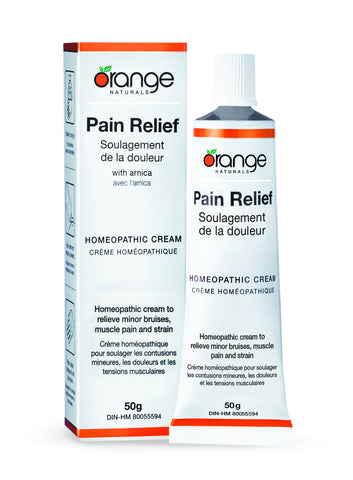 Orange Naturals Homeopathic Cream For Pain Relief