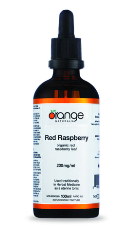 Orange Naturals Red Raspberry Tincture