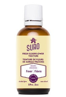 SURO Fresh Elderflower Tincture w/out alcohol
