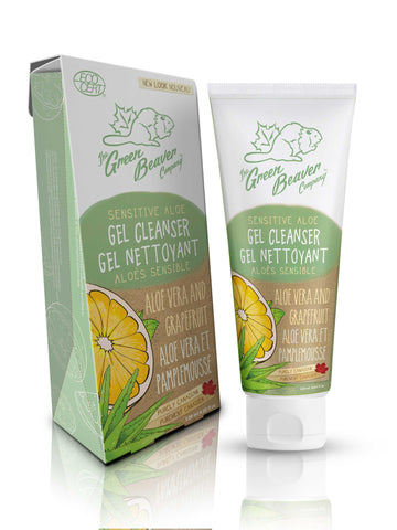 Green Beaver Sensitive Aloe Gel Cleanser