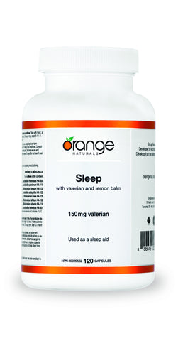 Orange Naturals Sleep with Valerian
