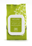 Acure Unscented Argan Oil Towelettes
