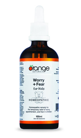 Orange Naturals Kids Worry & Fear