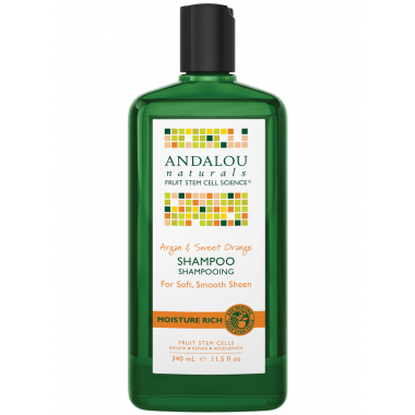 Andalou Naturals  Argan & Sweet Orange Moisture Rich Shampoo