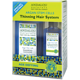 Andalou Naturals Argan Stem Cells Age Defying Hair Thinning System