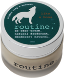 Routine Natural Deodorant Cream in Like a Boss Scent