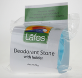 Lafe's Natural Crystal Deodorant with Dish