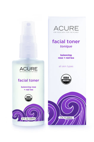 Acure Facial Toner - Rose & Red Tea