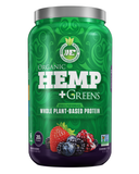 Ergogenics Nutrition Hemp + Greens Mixed Berry 840g