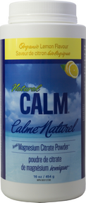 Natural Calm Magnesium Sweet Lemon 16 oz