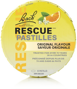 Bach Rescue Pastilles - Orange & Elderflower