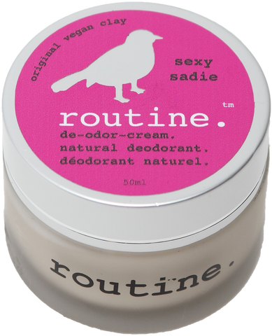 Routine Natural Deodroant Cream in Sexy Sadie Scent