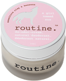 Routine Natural Deodorant Cream in A Girl Named Sue