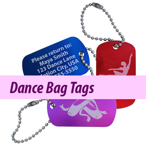 Nutcracker Dance Bag Tags