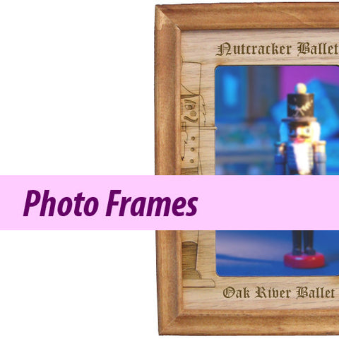 Personalized Nutcracker Ballet Photo Frames