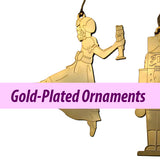 Gold-Plated Ornaments (Made in USA)