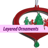 Layered Ornaments (Made in USA)