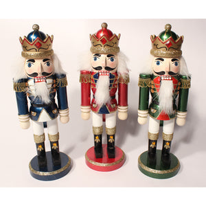 "10"" Metallic King Nutcrackers - Ballet Gift Shop"