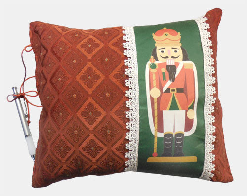10x12 Fancy Nutcracker Autograph Pillow