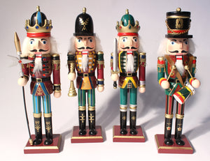 "12"" Fancy Nutcrackers - Ballet Gift Shop"