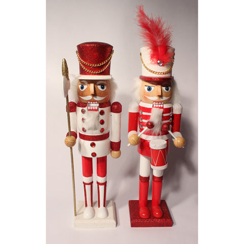 "15"" Peppermint Candy Nutcrackers - Ballet Gift Shop"