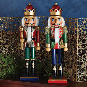 "15"" Glittery King Nutcrackers - Ballet Gift Shop"