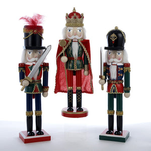"15"" Nutcrackers with White Hair - Ballet Gift Shop"
