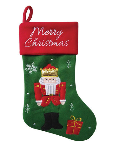 "18"" Nutcracker Stocking - Ballet Gift Shop"