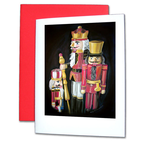Three Nutcrackers Note Cards