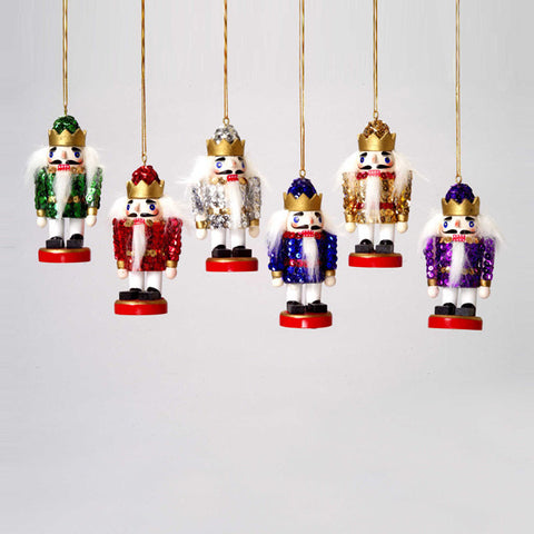 "4"" Sequined King Ornaments - Ballet Gift Shop"