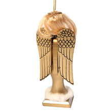 "Load image into Gallery viewer, 5"" Golden Angel Nutcracker Ornament - Ballet Gift Shop"