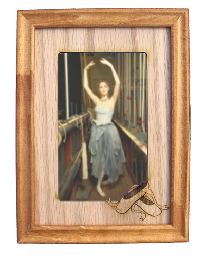 Ballet Shoes Photo Frame Mat (Vertical/Portrait) - Ballet Gift Shop
