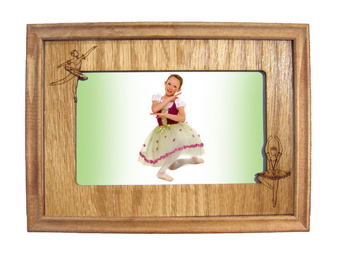 Ballerinas Photo Frame Mat (Horizontal/Landscape) - Ballet Gift Shop