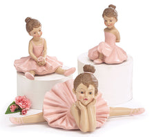 Load image into Gallery viewer, Resin Pink Ballerina Figurines