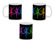 Load image into Gallery viewer, 11 oz. Glittery Ballerina Mug (Choose from 2 colors)