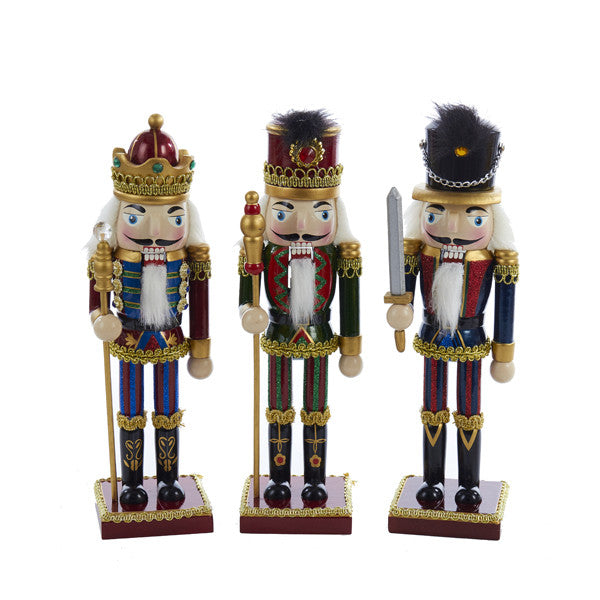 "10"" Striped Pants Nutcrackers - Ballet Gift Shop"