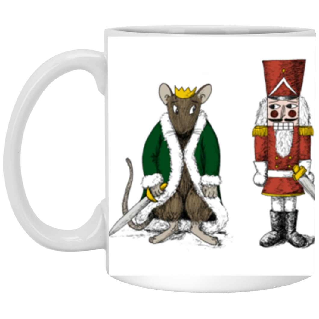 11 oz. Nutcracker vs. Rat King Mug